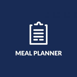 Meal planner graphic