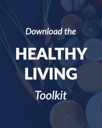 Healthy living toolkit graphic